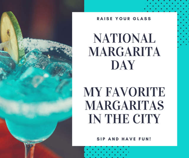 Turquoise Margarita Day Trivia Facebook Post