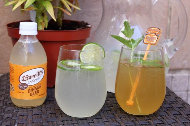 Barritt's Ginger Beer Cocktail Recipes