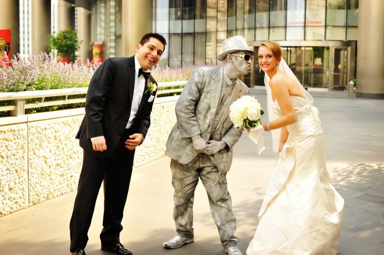 chicago wedding michigan avenue photos