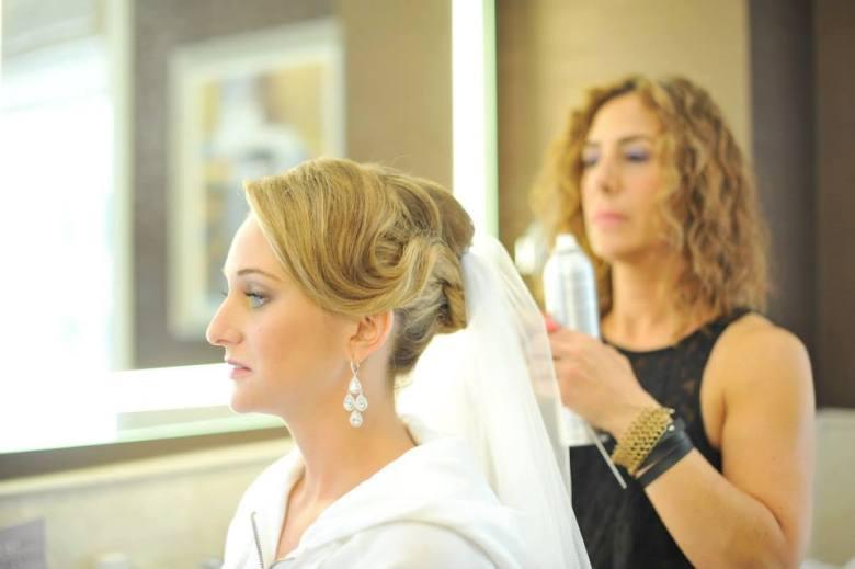 wedding bridal suite at JW Marriott