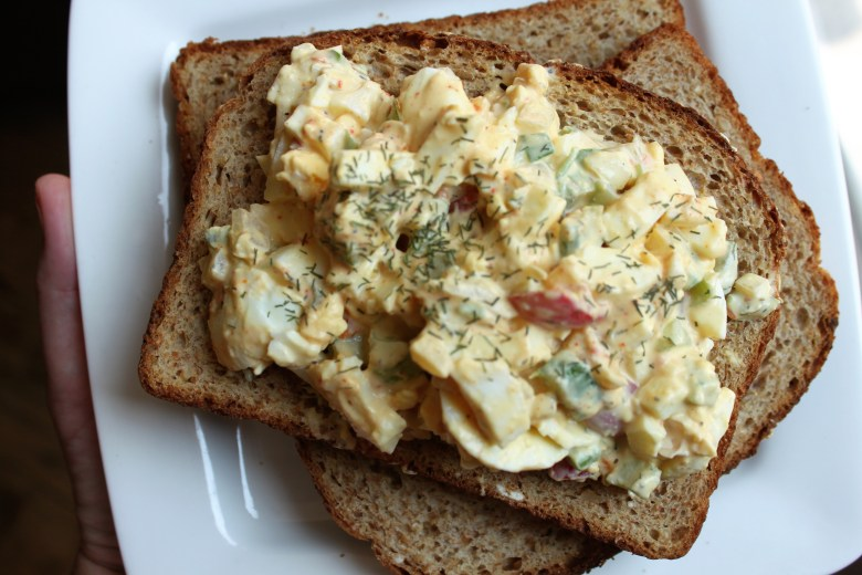 egg salad recipe, easy, home cooking