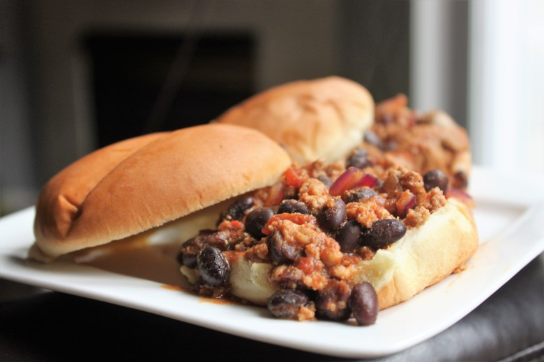 turkey black bean sloppy joe recipe