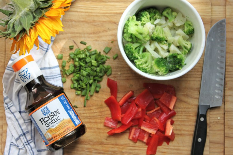 A fast and easy meatless weeknight meal