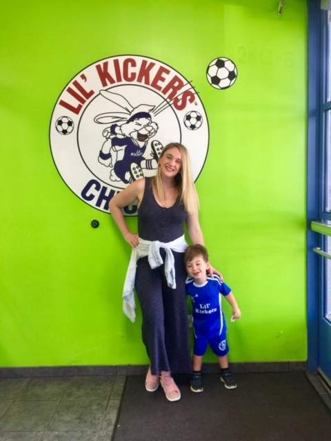 Our Lil' Kickers recap of our soccer lessons in Chicago