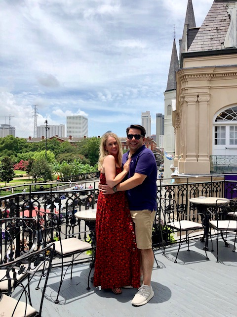 Muriel's Jackson Square New Orleans has the best balcony to grab drinks and people watch over the square.