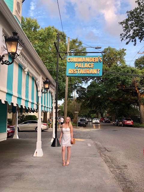 Commander's Palace is an iconic restaurant in New Orleans.