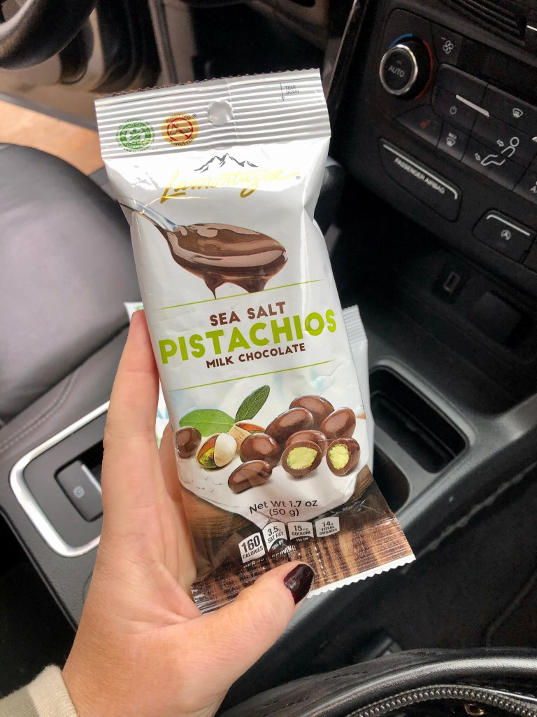 The pistachio kind is so good!