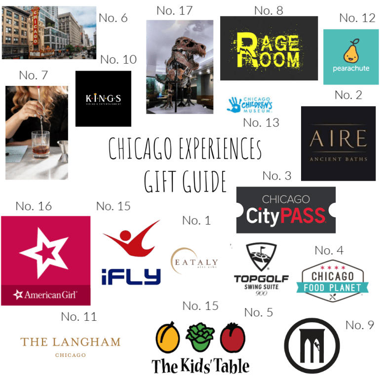 Chicago Experiences Gift Guide has a little something for everyone around the city. Family, friends and couples.