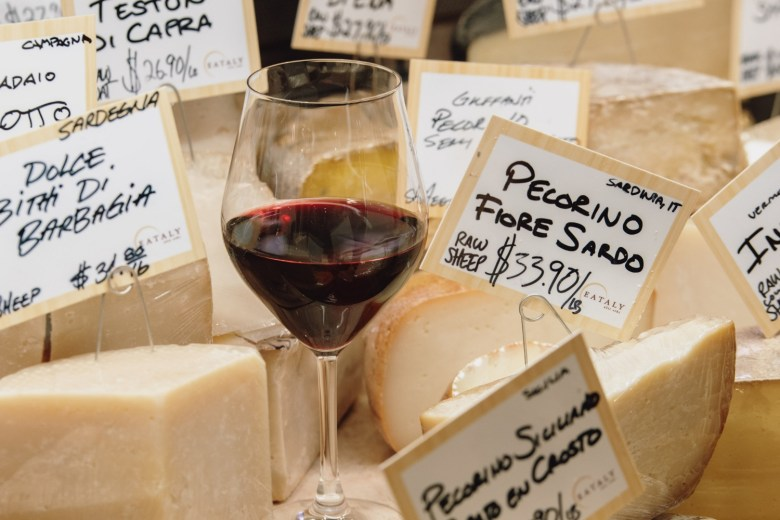 Winter Wine and Cheese Fest at Eataly would be the best date in the Winter! All the wine and cheese from Eataly is the best.