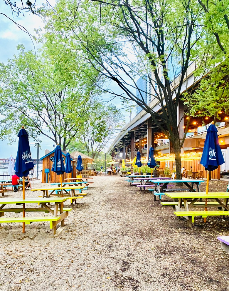 Chicago has lots of summer patios, but this Island Party hut is a must visit during the summer.