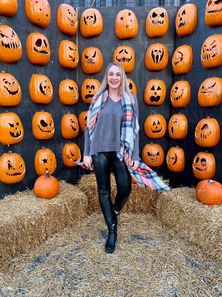 Jack's is a great city pumpkin patch for kids and adults to take all the instagram photos!