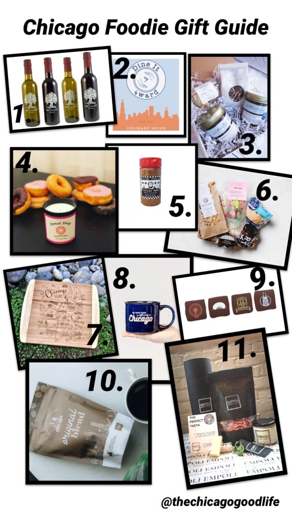 Chicago foodie gift guide for all the foodies on your list this season