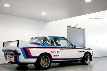 """For the win"" - BMW 30 CSL."
