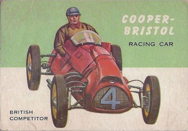 Cooper-Bristol Trading Card