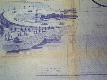 Illustration of Meadowdale's Monza Wall
