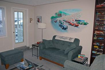 Paul Chenard's 1961 Monaco grid mural
