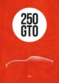 Dean Walton's Ferrari 250 GTO Poster
