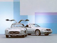 '50s and '80s Mercedes