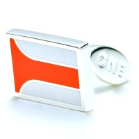 Parabolica Cufflinks. Named for John Surtees' victory at the 1967 Italian Grand Prix