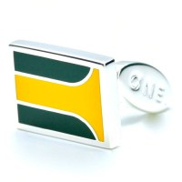 Silverstone Cufflinks. Named for Jim Clark's victory at the 1967 British Grand Prix