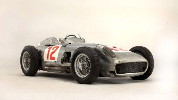 Fangio's Mercedes-Benz W196