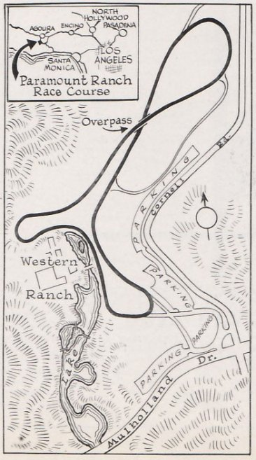 Paramount Ranch Track Map