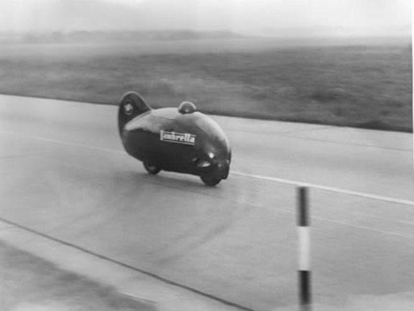 Romolo Ferri in Lambretta Record