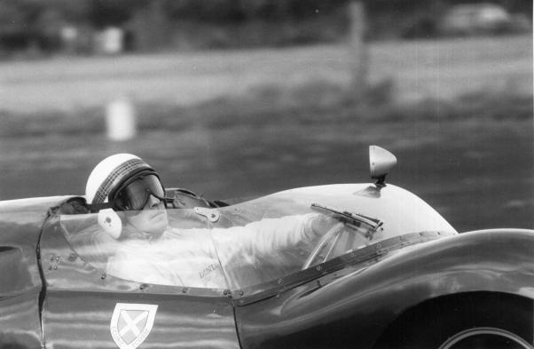Jackie Stewart in the Ecurie Ecosse Cooper Monaco