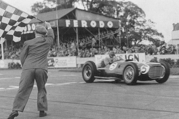 José Froilan Gonzalez. 1952 Woodcote Trophy. Goodwood.