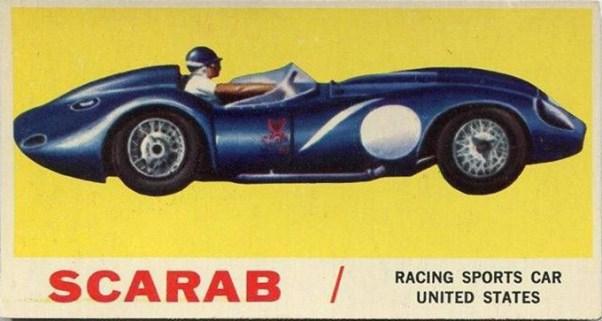 Scarab trading card