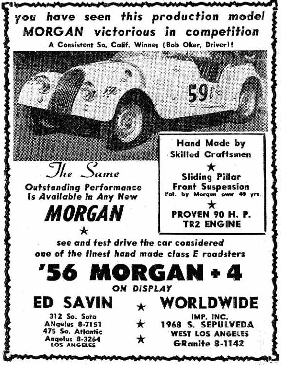Morgan Ad 1956