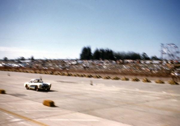 Corvette at Sebring - 1957