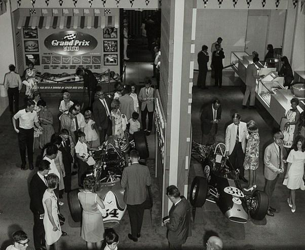 Theatre Lobby for Grand Prix