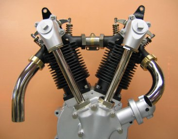 Home-made 1919 Excelsior V-Twin