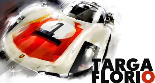 Porsche 906 sketch by Mike Kim