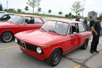 BMW 2002 with black steel wheels