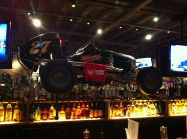 Midget racer at Clyde's of Chevy Chase
