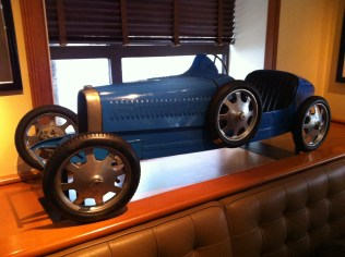 Bugatti 52 at Clyde's of Chevy Chase