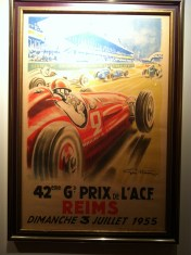 Rheims poster at Clyde's of Chevy Chase