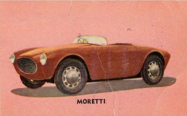 Mystery Moretti trading card