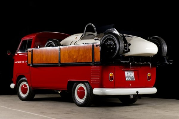 Porsche Factory Formula Vee and VW Transporter