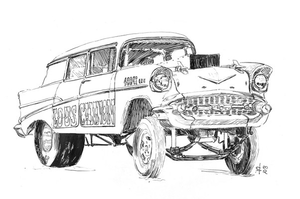 Martin Squires - Lou's Cannon gasser