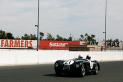 Jaguar C-Type at CSRG 2013 Charity Challenge