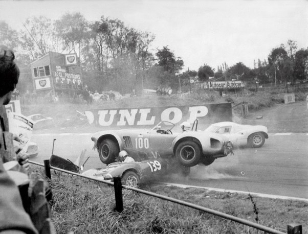 Cobra and Ginetta at Brands Hatch - 1967