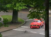 Alfa at Pittsburgh Vintage Grand Prix photo by Robert Ristuccia
