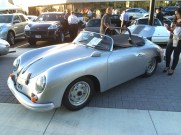 4 Cam Speedster at the opening of Porsche Minneapolis