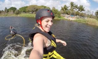 Fly boarding in Boca Raton, Florida