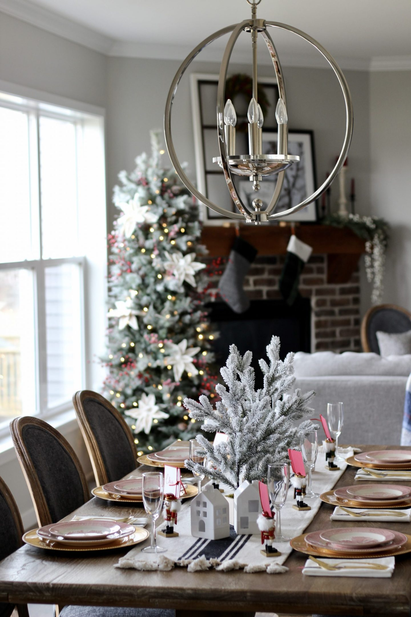 Holiday Tablescape 2019