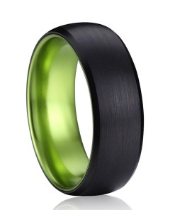 Wedding Black Rings