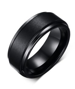 Wedding Matte Band Rings